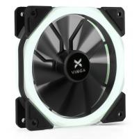 Кулер для корпуса Vinga LED fan-02 white