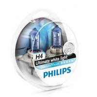 Автолампа PHILIPS H4 Diamond Vision, 5000K, 2шт (12342DVS2)