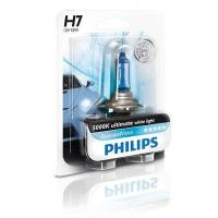 Автолампа PHILIPS H7 Diamond Vision, 5000K, 1шт (12972DVB1)