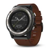 Смарт-часы Garmin D2 Charlie Titanium with Leather & Silicone Bands (010-01733-31/30)