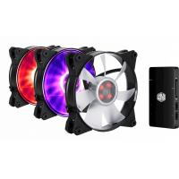 Кулер для корпуса CoolerMaster MASTERFAN PRO 120 Air Flow RGB (MFY-F2DC-113PC-R1)