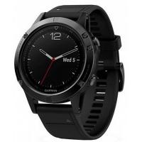 Смарт-часы Garmin Fenix 5 Sapphire Black with Black & Yellow Silicon Bands (010-01688-11/67)