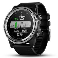 Смарт-часы Garmin Descent MK1 Saphire Silver with Black Silicone Band (010-01760-10/30)