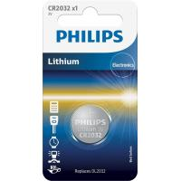Батарейка PHILIPS CR2032 Lithium * 1 (CR2032/01B)