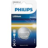 Батарейка PHILIPS CR2430 Lithium * 1 (CR2430/00B)