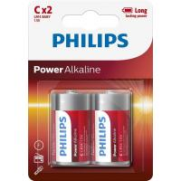 Батарейка PHILIPS C LR14 Power Alkaline * 2 (LR14P2B/10)