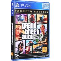 Игра SONY Grand Theft Auto V Premium Online Edition [Blu-Ray диск] (5026555426886)