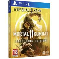 Игра SONY Mortal Kombat 11 Steelbook Edition [PS4, Russian subtitles] (2222358)