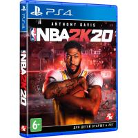 Игра SONY NBA 2K20 [PS4, English version] Blu-ray диск (5026555426398)