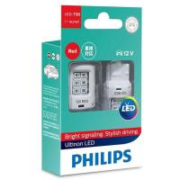 Автолампа PHILIPS W21W RED Ultinon LED, 12V, 2шт/бл. (11065ULRX2)