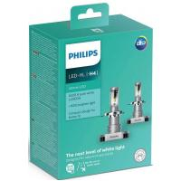 Автолампа PHILIPS H4 Ultinon LED+160%, 2 шт/компл. (11342ULWX2)