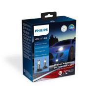 Автолампа PHILIPS H4 X-treme Ultinon LED+250%, 2 шт/компл, Gen 2 (11342XUWX2)