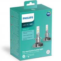 Автолампа PHILIPS H7 Ultinon LED+160%, 2 шт/компл. (11972ULWX2)