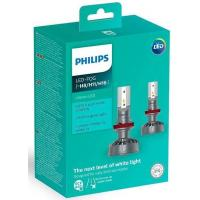 Автолампа PHILIPS H8/Р11/H16 Ultinon LED+160%, 2 шт/компл. (11366ULWX2)