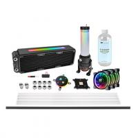 Набор для сборки CBO ThermalTake Pacific M360 Plus D5 Hard Tube Water Cooling Kit (CL-W218-CU00SW-A)
