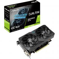 Видеокарта ASUS GeForce GTX1660 SUPER 6144Mb DUAL OC MINI (DUAL-GTX1660S-O6G-MINI)
