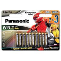 Батарейка PANASONIC AAA LR03 Everyday Power * 10 Power Rangers (LR03REE/10B3FPR)
