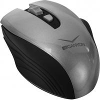Мышка CANYON CNS-CMSW7G Wireless Black-Silver (CNS-CMSW7G)