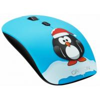 Мышка CANYON CND-CMSW400PG Wireless Black-Blue (CND-CMSW400PG)