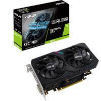 Видеокарта ASUS GeForce GTX1650 4096Mb DUAL OC D6 MINI (DUAL-GTX1650-O4GD6-MINI)