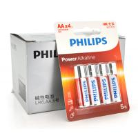Батарейка PHILIPS AA Alkaline 1.5V LR6, 4pcs/card (LR6P4BT/93)