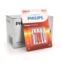 Батарейка PHILIPS AAA Alkaline 1.5V LR03, 4pcs/card (LR03P4BT/93)