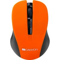 Мышка CANYON MW-1 Wireless Orange (CNE-CMSW1O)