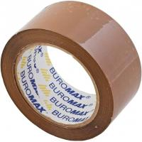 Скотч BUROMAX Packing tape 48мм x 66м х 45мкм, brown (BM.7018-01)