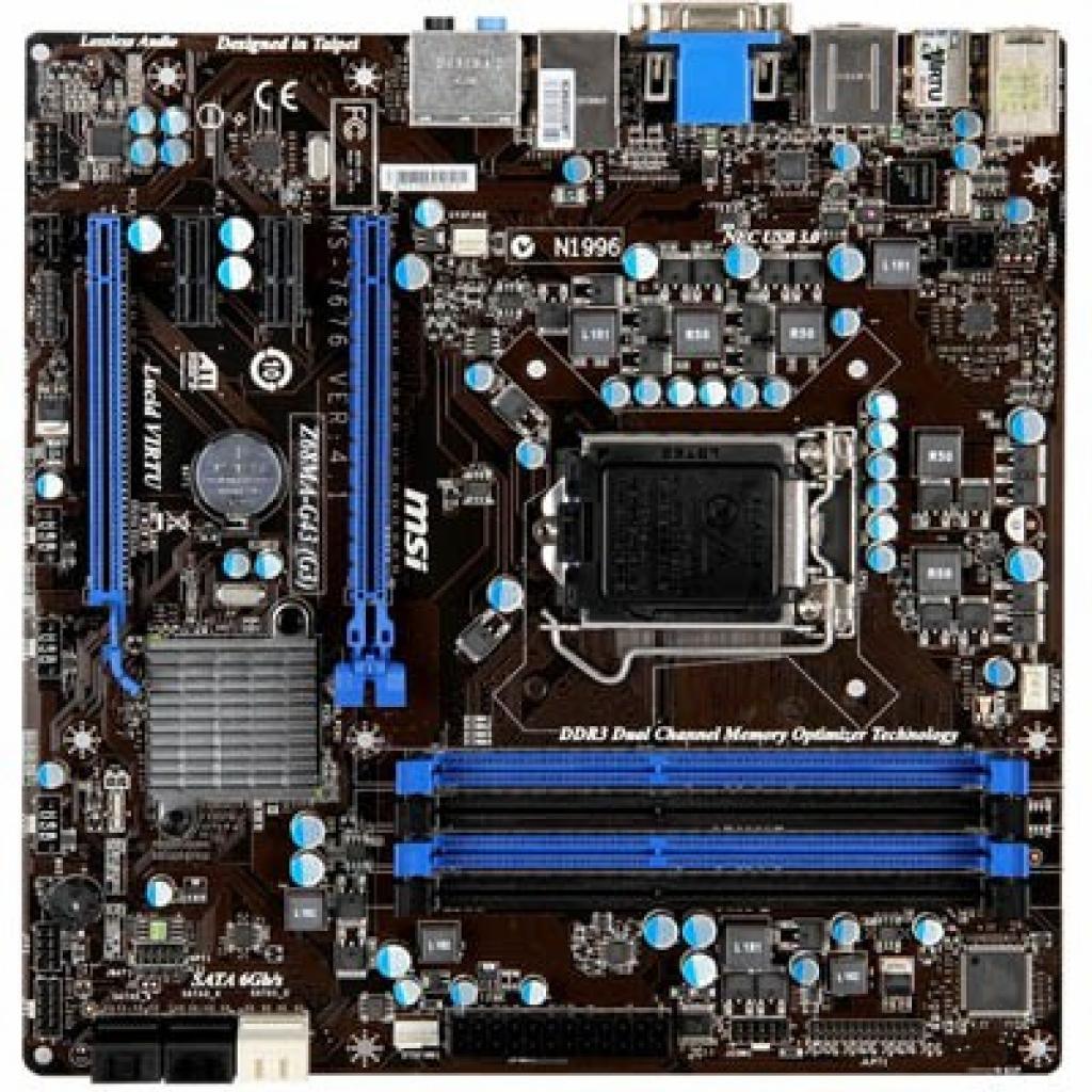 MSI Z68A-G43 (G3) Control Center Last